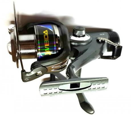 Катушка для спиннинга Weida KX 5000, c бейтраннером, 3 подш.