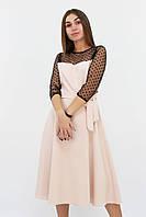 S, M, L, XL | Вишукане жіноче плаття Blade, бежевий