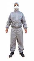 Малярный комбинезон костюм E.P.U. многоразовый ХXXL Серый (999974)
