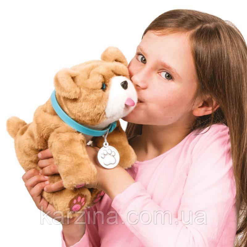 Интерактивный щенок Ролли Люблю целоваться Оригинал Little Live Pets My Kissing Puppy Rollie