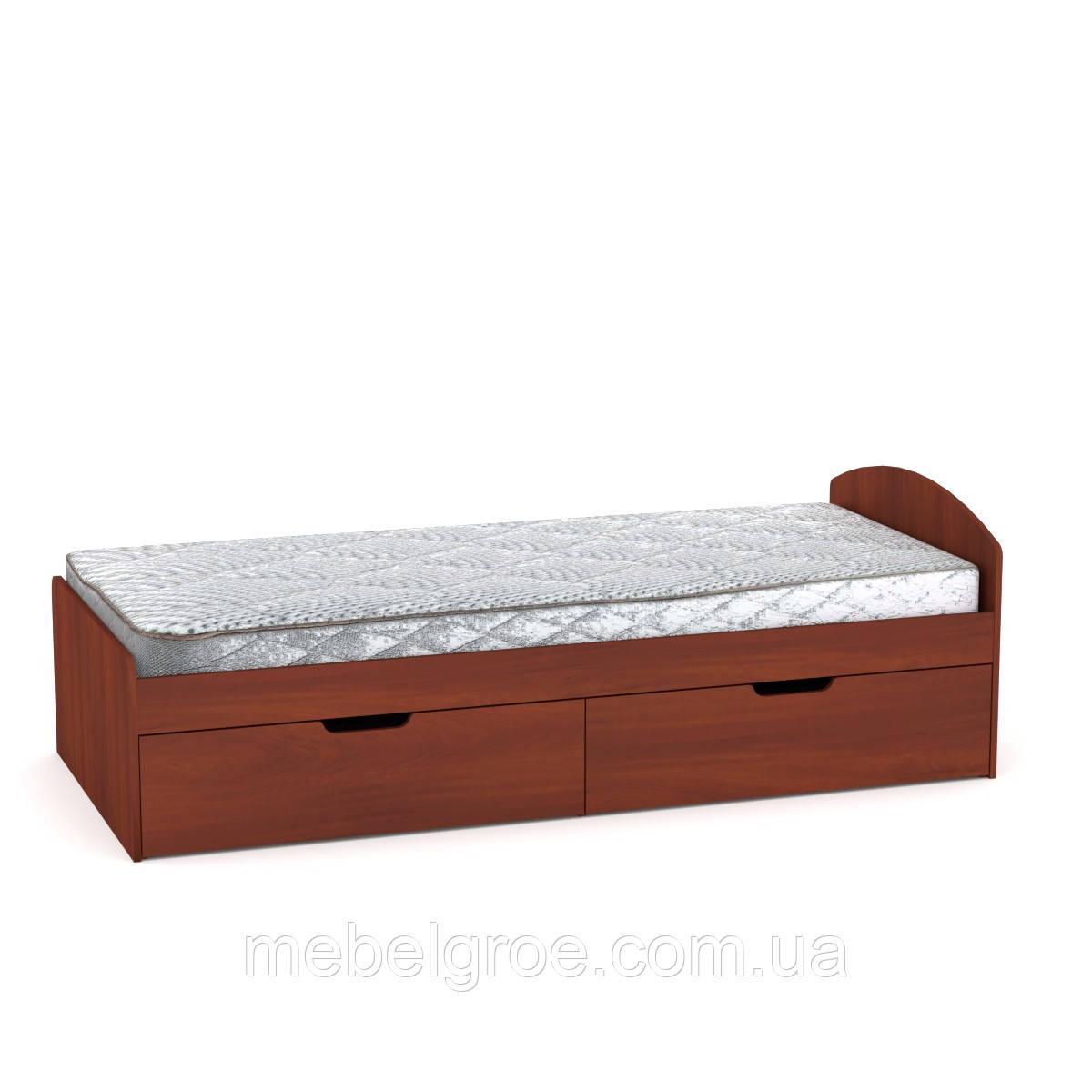 Односпальная кровать 90+2 тм Компанит
