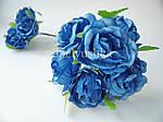 Троянда 4 см голуба на дротику, фото 2