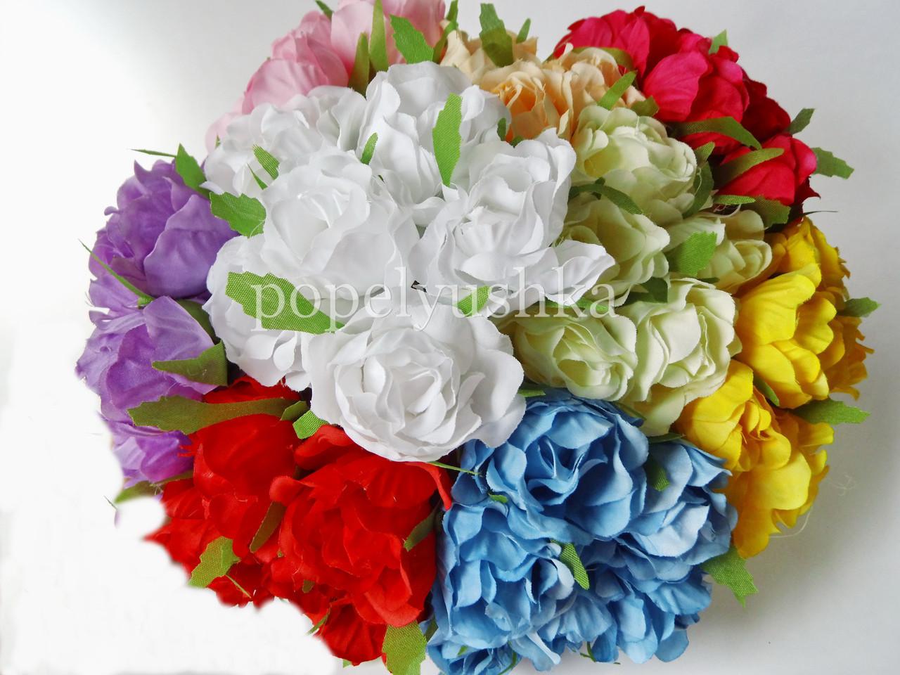 Троянда 4 см голуба на дротику