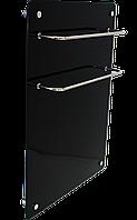 Hglass GHT 5070 чёрная 400/200 Вт инфракрасная стеклокерамическая  сушилка для полотенец