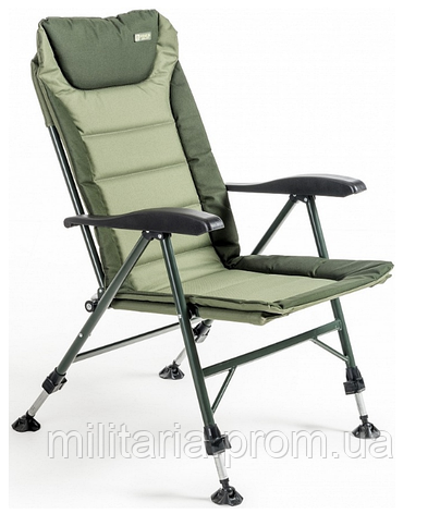 Кресло карповое Mivardi усиненное до 175 кг Chair Premium Quattro Чехия (M-CHPREQ), фото 2