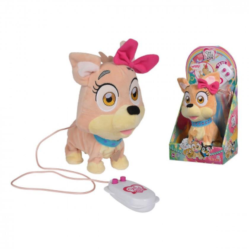 Собачка ЧИЧИЛАВ на пульте Модный щенок ходит, гавкает Chi Chi Love Simba 5893385