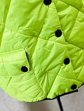 Куртка жіноча з коротким рукавом для повних, фото 3