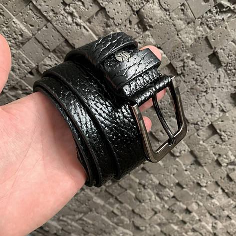 Ремень I&M Craft из натуральной кожи черный (R100115), фото 2