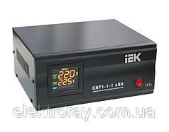 Cтабилизатор напряжения CHP1-0- 1 кВА электронный переносной IEK