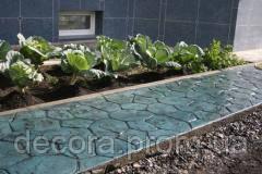 Краситель для бетона, гипса UPICTA белый, зеленый, синий