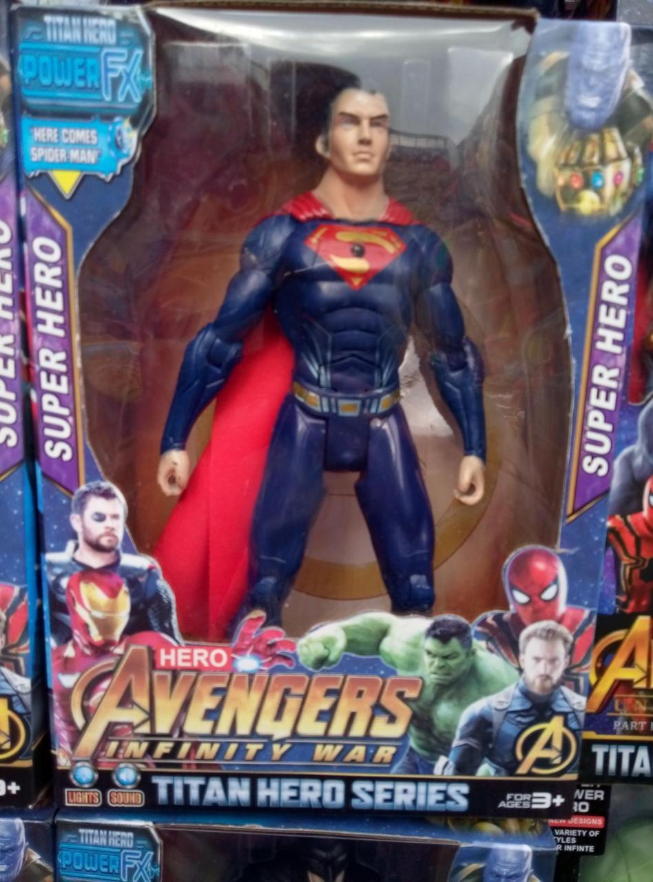 Игровые фигурки супергероев Марвел Мстители