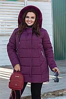Куртка женская зимняя БАТАЛ (52-58) Lm-957