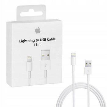 Оригинальный кабель для Айфона / Lightning USB Apple iPhone  100% Original White (1m)