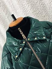 Демісезонна стильна куртка великих розмірів, фото 3