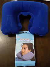 Подушка дорожная надувная медицинская, подголовник под шею