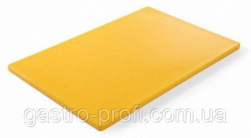 Доска разделочная желтая 450x300x(H)12 Hendi 825563