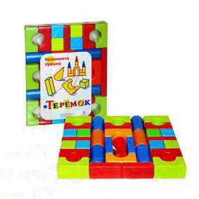 Кубики «Теремок» большой в п/э