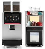 Кофемашина Dr.Coffee F2 с холодильником (КОМПЛЕКТ)