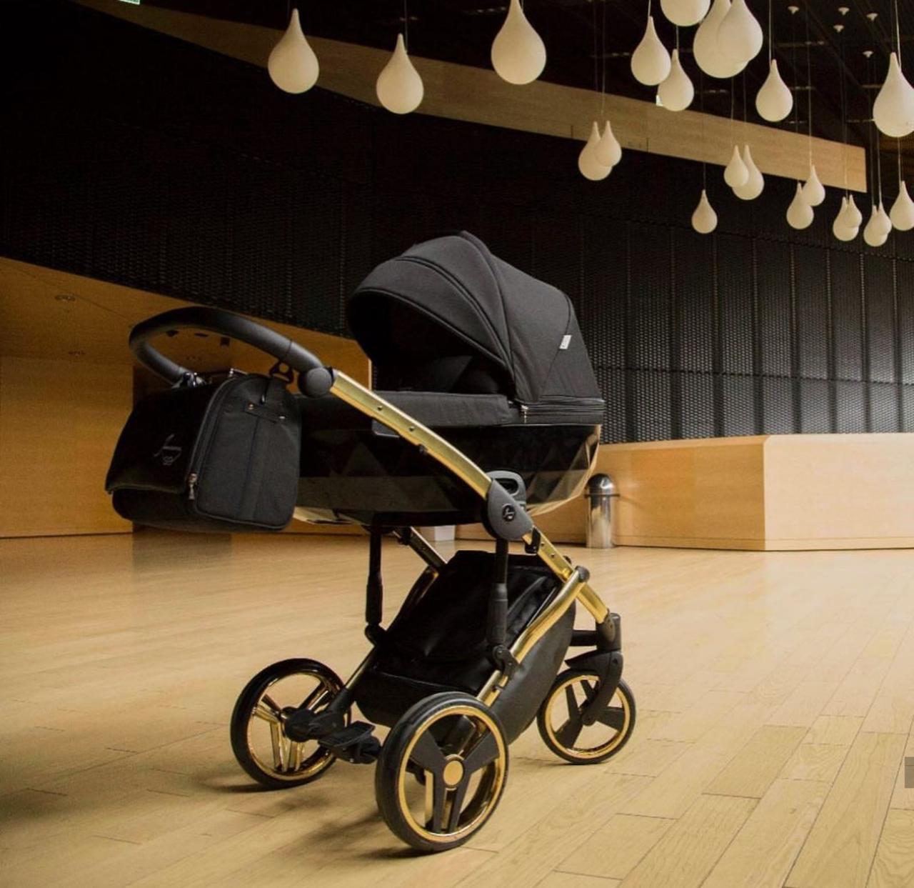 Універсальна  дитяча коляска 2 1 Junama Diamond S-Line Gold