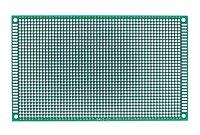 Макетная плата 8х12 см двусторонняя FR4