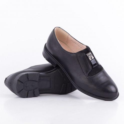 Шкіряні жіночі туфлі на низькому каблуці Anna Lucci 130879 36