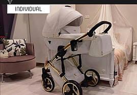 Універсальна  дитяча коляска 2в1 Junama Diamond Individual 04 (Юнама Даймонд Індевідуал 04)