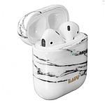 Laut HUEX ELEMENTS чехол для AirPods, белый мрамор, фото 4