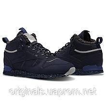 Мужские высокие кроссовки Reebok Classic Leather Mid Sherpa II CN1883