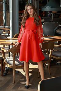 Нарядное платье Красный