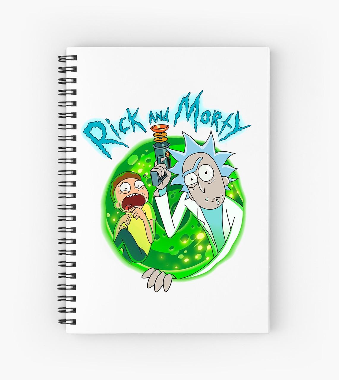 Блокнот Рик и Морти 7