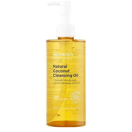 Органическое гидрофильное масло с кокосом AROMATICA Natural Coconut Cleansing Oil, 300 мл., фото 2