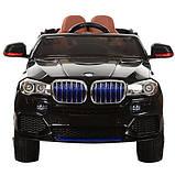Детский электромобиль BMW X5 c MP4 M 2762 EBLR, фото 4