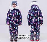 Детский очень теплый и красивый зимний комбинезон девочка+мальчикрост 86-110 (6расцв.), фото 7