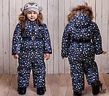 Детский очень теплый и красивый зимний комбинезон девочка+мальчикрост 86-110 (6расцв.), фото 10