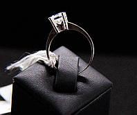 Кольцо Beauty Bar из серебра с камнем Swarovski, новая коллекция (размер 16)