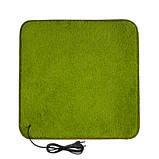 Термоковрик электрический Теплик 100х100 с термоизоляцией светло-зеленый, фото 4