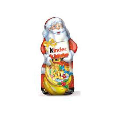 Киндер Фигурный молочный шоколад Дед мороз 110г Т18*1 НГ (ШТ)