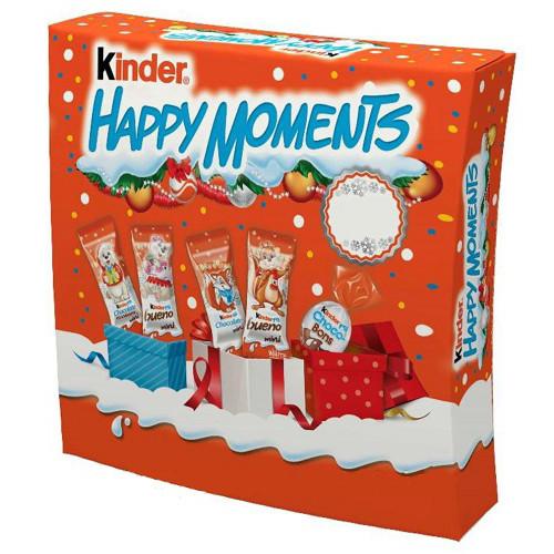 Киндер Хеппи Моментс /Kinder Happy moments) 242 г/ 7 шт в ящ