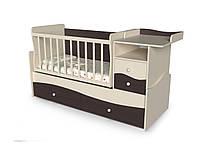 Детская кроватка для младенца ДМ-026