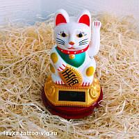 Счастливый кот Манэки Нэко - привлекает удачу, богатство, счастье, любовь и процветание