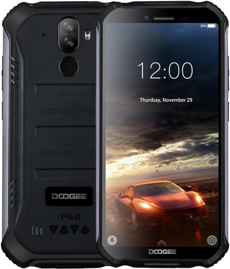 Doogee S40 | Черный | IP68 | 3/32Гб | 4G/LTE | Гарантия