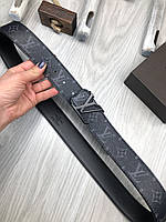 Ремень брендовый мужской женский кожа LOUIS VUITTON реплика премиум копия
