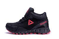 Чоловічі зимові шкіряні черевики Reebok Crossfit (репліка), фото 1