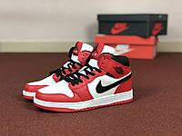 Кроссовки женский Nike Air Jordan 1 Retro. ТОП КАЧЕСТВО!!! Реплика класса люкс (ААА+), фото 1