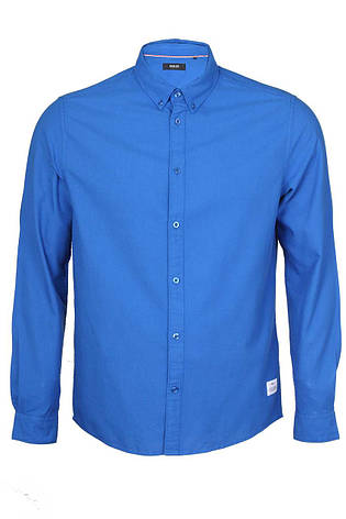 Мужская голубая рубашка TwinSnorkel BLот !Solid (Дания)в размере L, фото 2