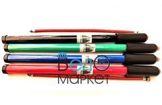 Насос велосипедный пластиковый , Ф22 х 400 мм., черный, зеленый, синий, красный (1 штука)
