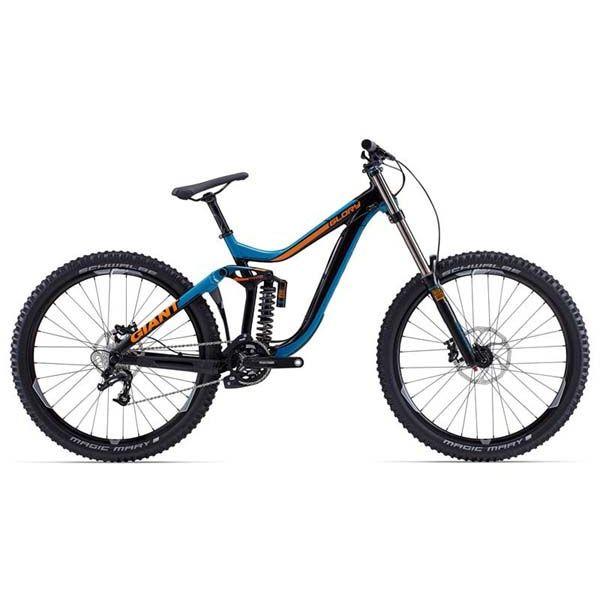 """Горный велосипед двухподвес Giant Glory 2, колеса 27.5"""" peacock M (GT)"""