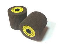 Круг шлифовальный лепестковый 100х100х19мм, цилиндрический, с нетканого абразивного материала, COARCE, P40, 6000об/хв, Glob