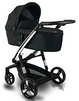 Детская коляска 2 в 1 Ibebe i-stop Chrome Black (АйБебе ай-стоп), фото 1