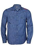 Мужская джинсовая рубашка  от Mustang jeans в размере M